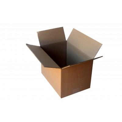 Картонная коробка для хранения вещей 300х200х200